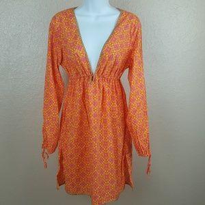 Victoria's Secret Women's Dress Size M/L Orange Ye
